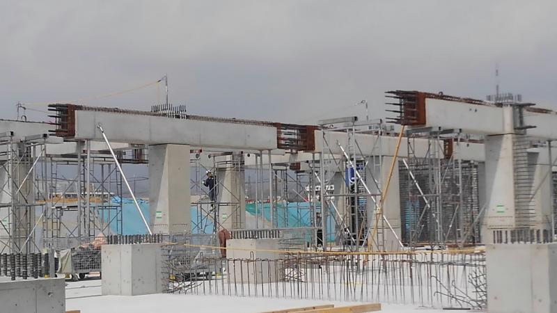 建築PCa(高層ビル用柱・梁) | 松阪興産株式会社